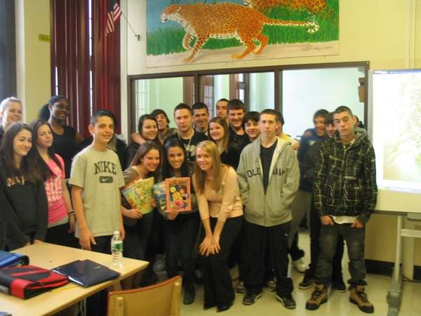 FRESHMEN GIVE TO ORPHANS IN KENYA