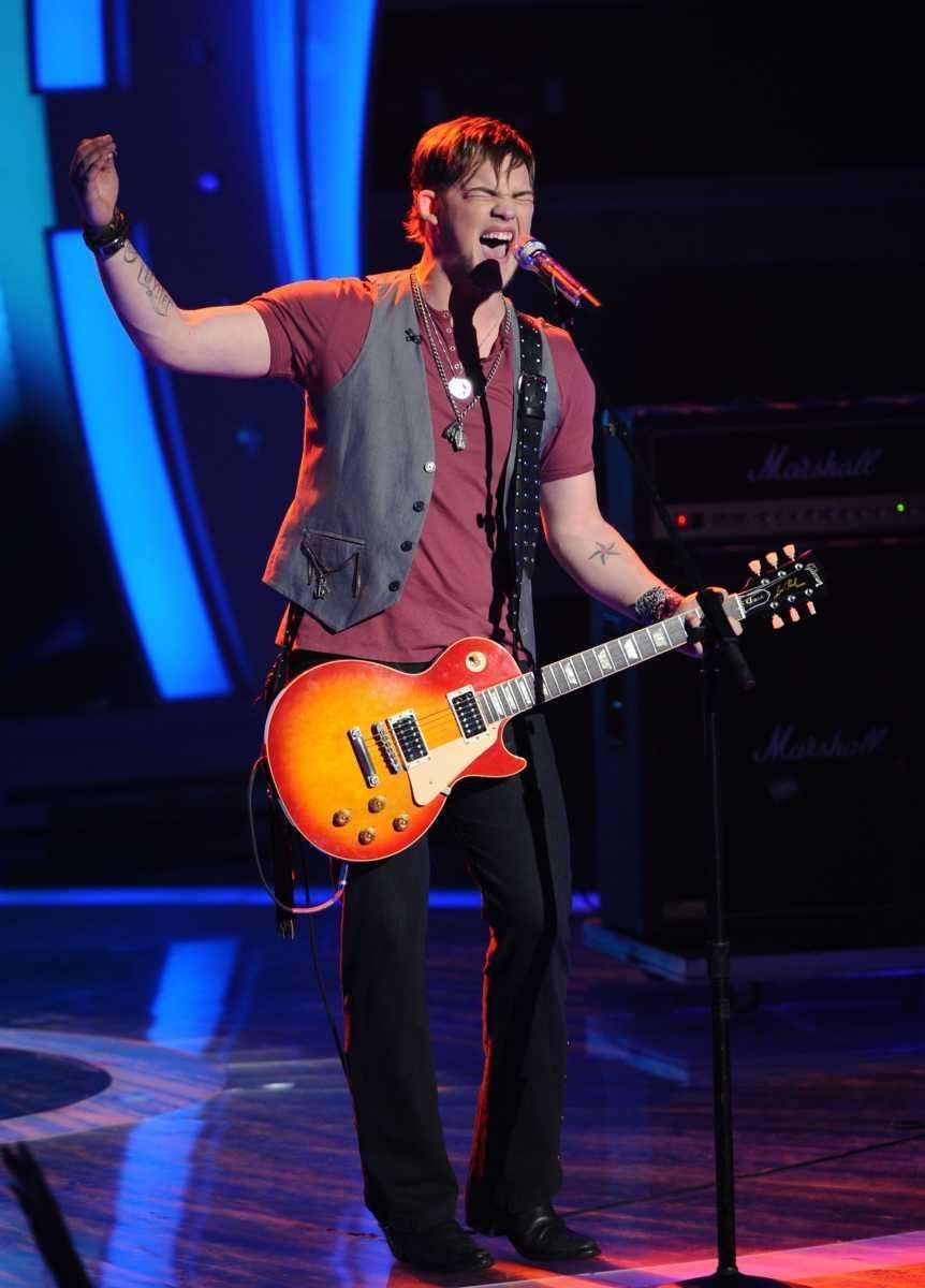 James Durbin won raves from the judges for