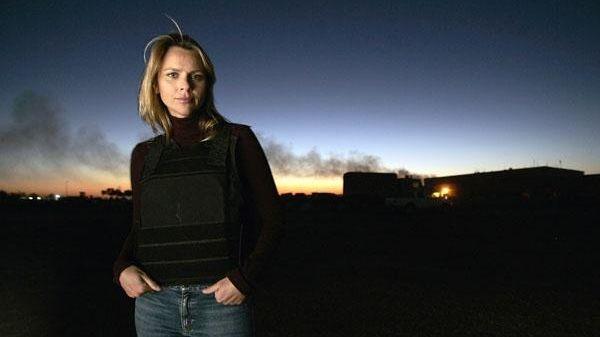 Lara Logan in Iraq in 2006.