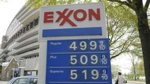 Gas prices above $5 a gallon are seen