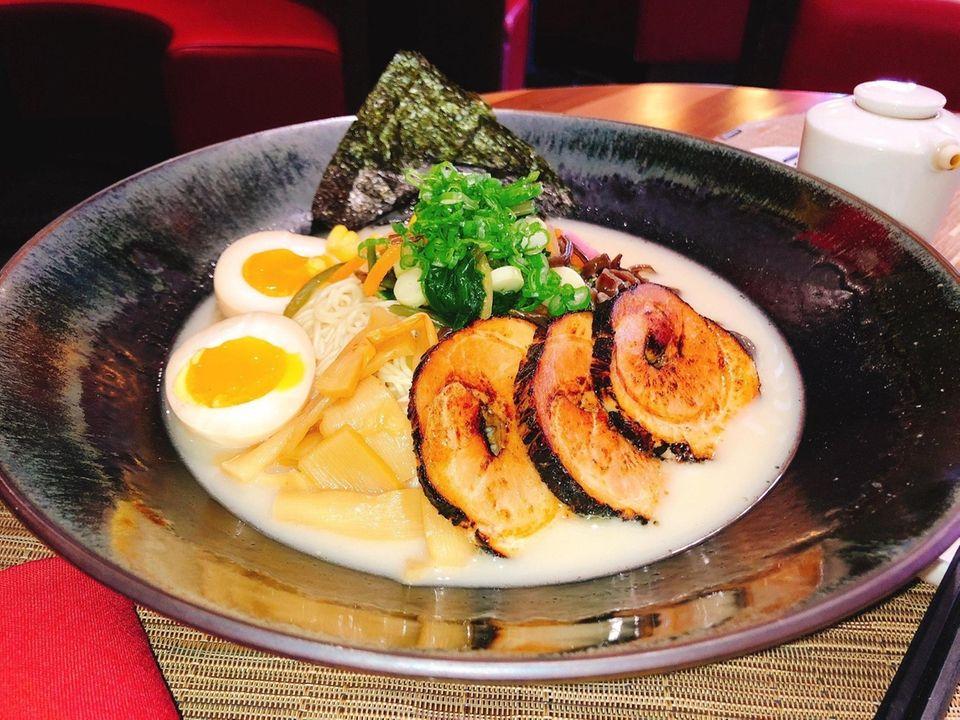 The Taiko ramen bowl at 360 Taiko features