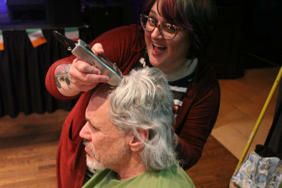 The St. Baldrick's Foundation event in Northport was