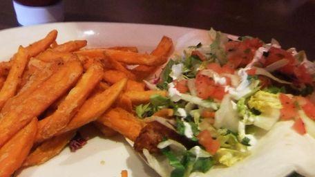 Fish taco at Houlihan's in East Farmingdale