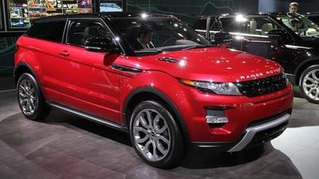 2012 Range Rover Evoque at the New York