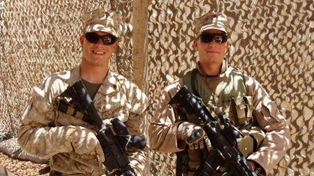 Matthew and Daniel Hansen. Twins who are also
