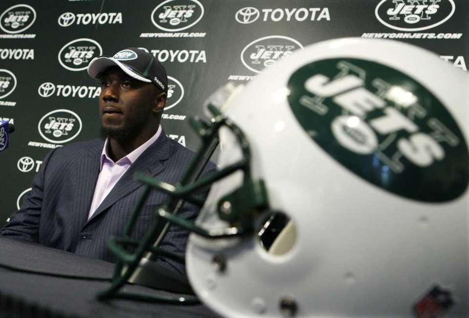 New York Jets draft pick Muhammad Wilkerson listens
