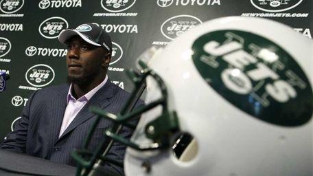 New York Jets draft pick Muhammad Wilkerson listens