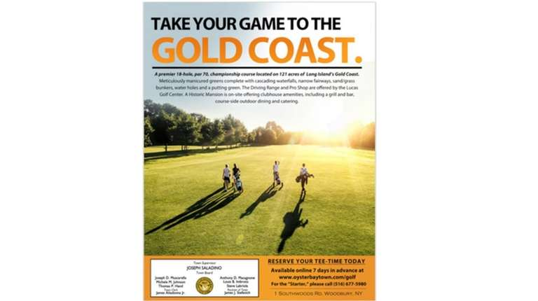 Oyster Bay advertisement to appear in New York