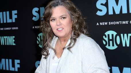 Rosie O'Donnell arrives at the Los Angeles premiere