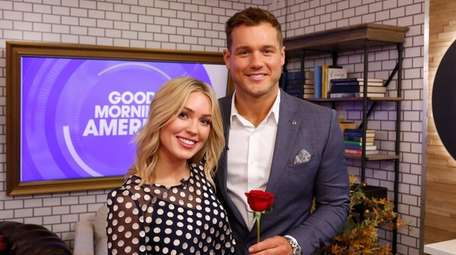 "Colton Underwood and Cassie Randolph of ABC's ""The"