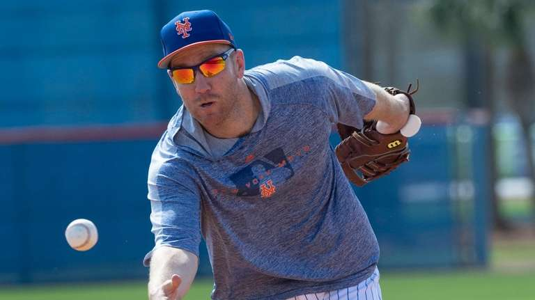 Mets infielder Todd Frazier during a spring training