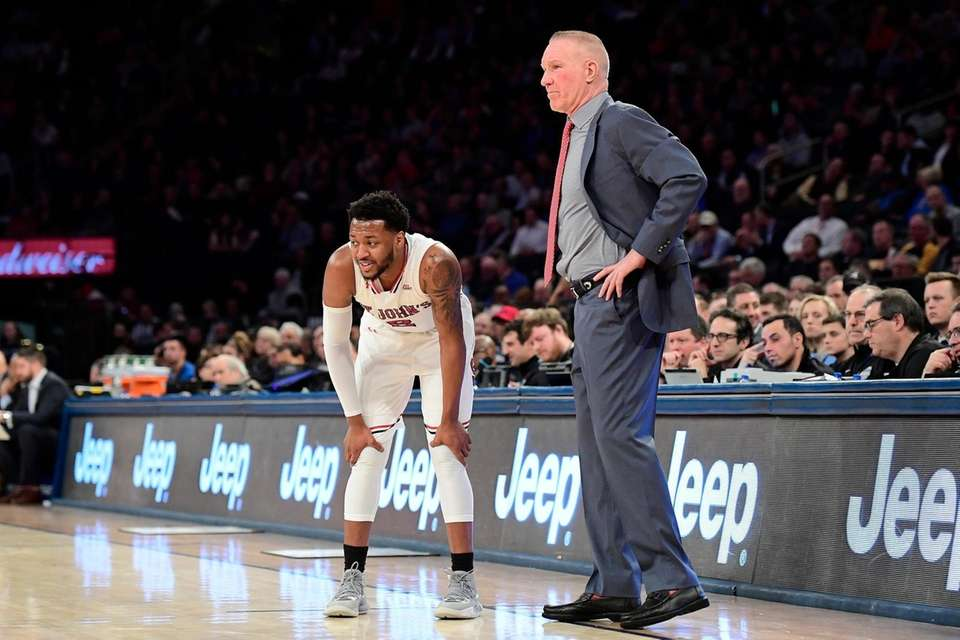 Shamorie Ponds #2 and head coach Chris Mullin