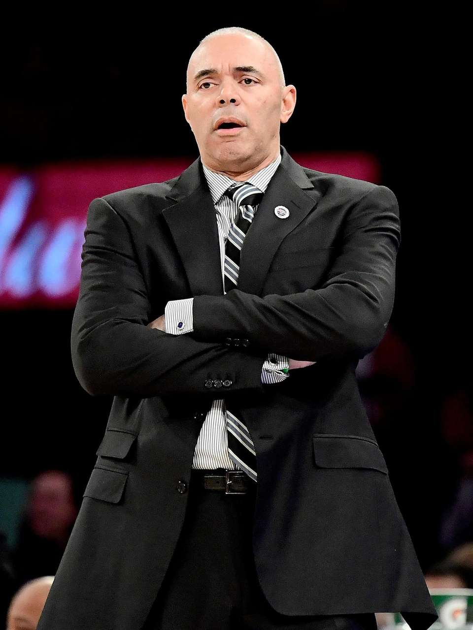 Head coach Dave Leitao of the DePaul Blue