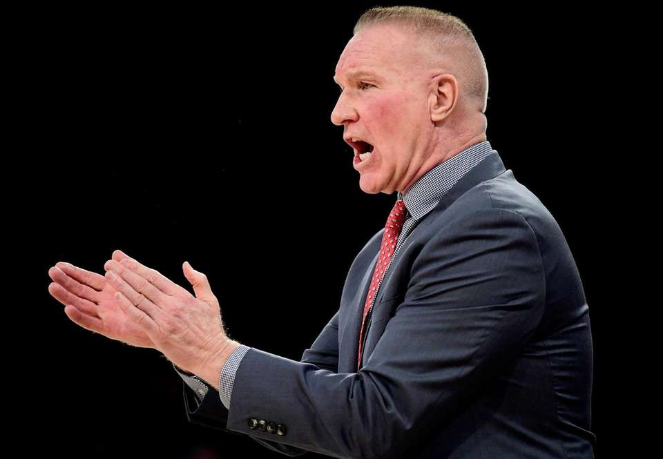 Head coach Chris Mullin of the St. John's