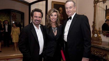 Comedian Dennis Miller, left, Fox News host Bill