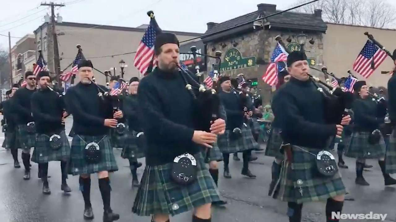 The 85th annual Huntington St. Patrick's Day Parade
