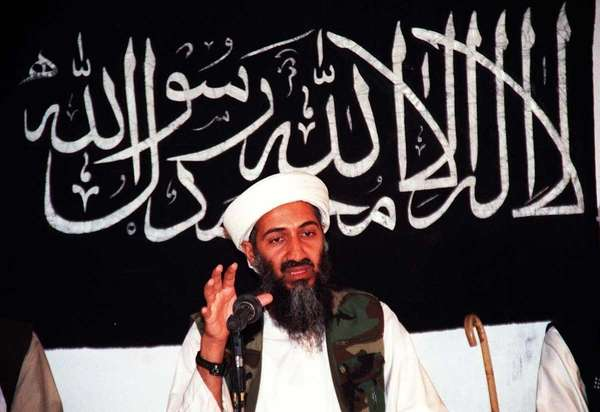 This undated file picture shows Osama bin Ladin