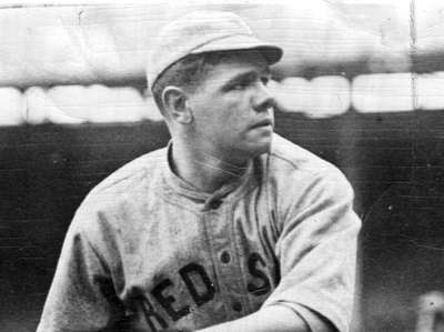 Boston Red Sox Babe Ruth in the Polo