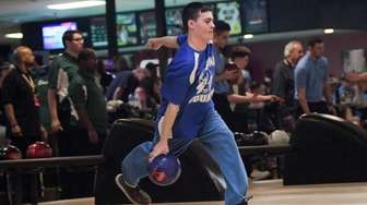 John Loughlin, Jr., competes for the Section XI