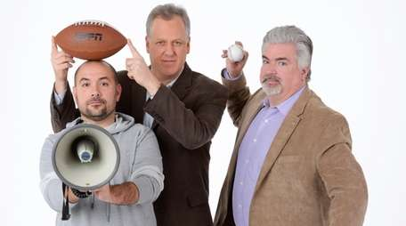 From left, Peter Rosenberg, Michael Kay and Don