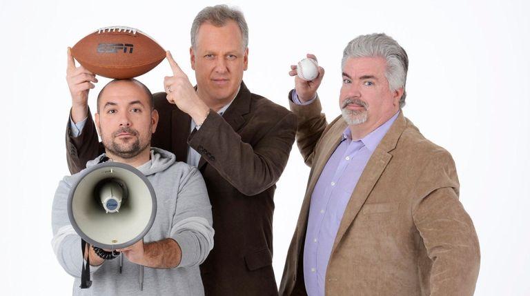 From left, Peter Rosenberg, Michael Kay and Don