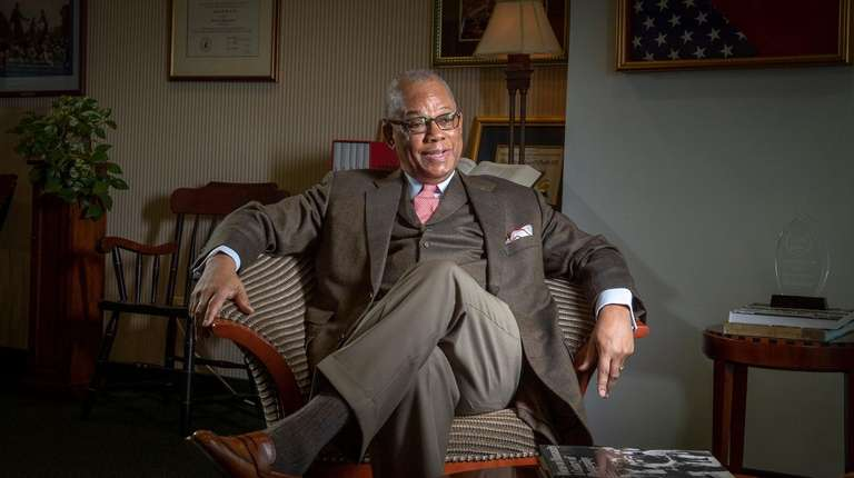 The Rev. Calvin O. Butts III, president of