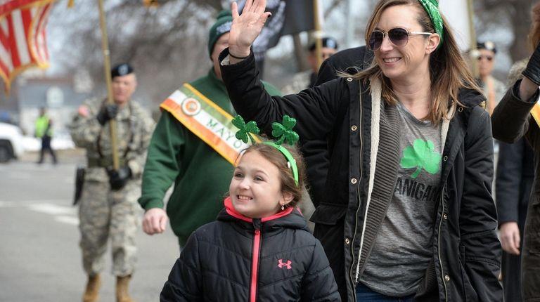 The Mineola Irish-American Parade Saint Patrick?s Day Parade