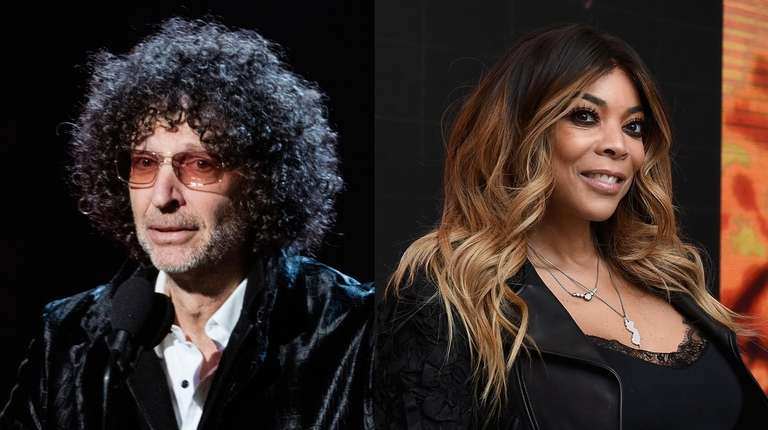 Talk show hosts Howard Stern and Wendy Williams