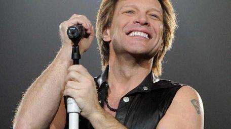 Singer Jon Bon Jovi performs at the MGM