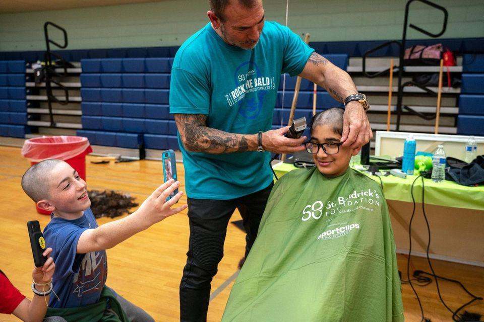 Although Alec Josen, 11, from Plainview, raised money