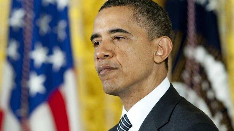 President Barack Obama speaks during a Medal of
