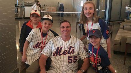 New York Mets pitcher Corey Oswalt at Citi