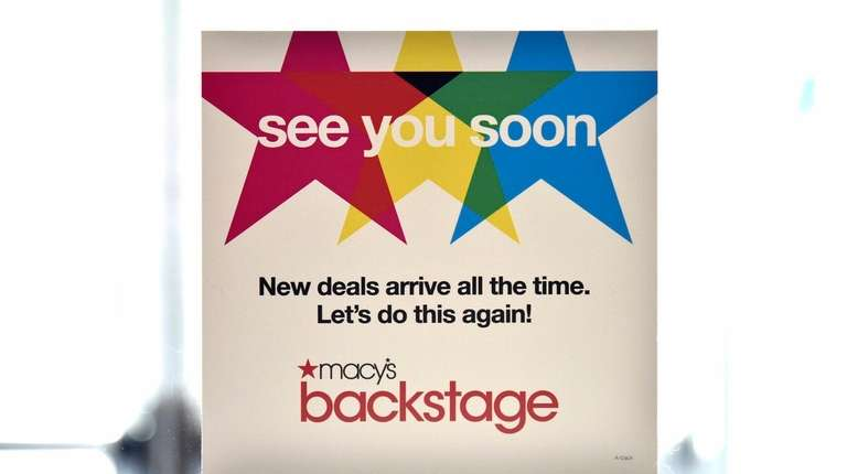 Macy's is planning to open more Macy's Backstage