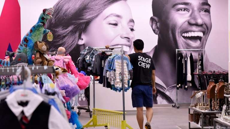 Macy's has separate Backstage stores -- not inside