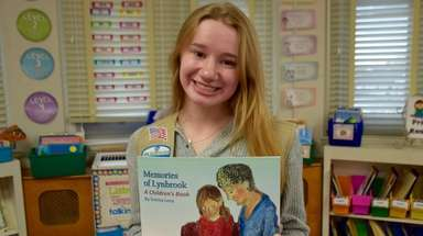 Emma Lenz, a junior at Lynbrook High School,