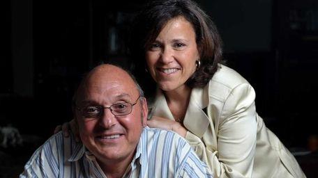 Marc Wieman with his wife Stephanie. Wieman lost