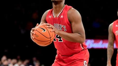 Mustapha Heron of the St. John's Red Storm