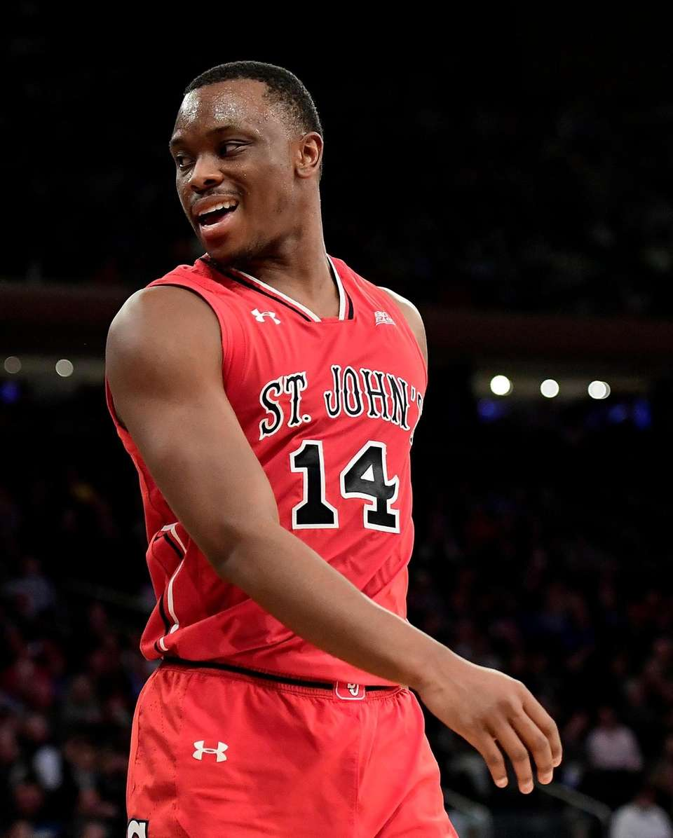 Mustapha Heron #14 of the St. John's Red