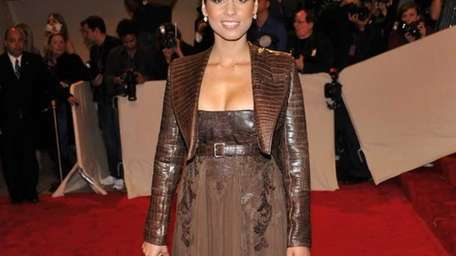 Musician Alicia Keys attends the