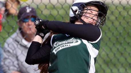 JFK's Brittany Venezia gets out of the way