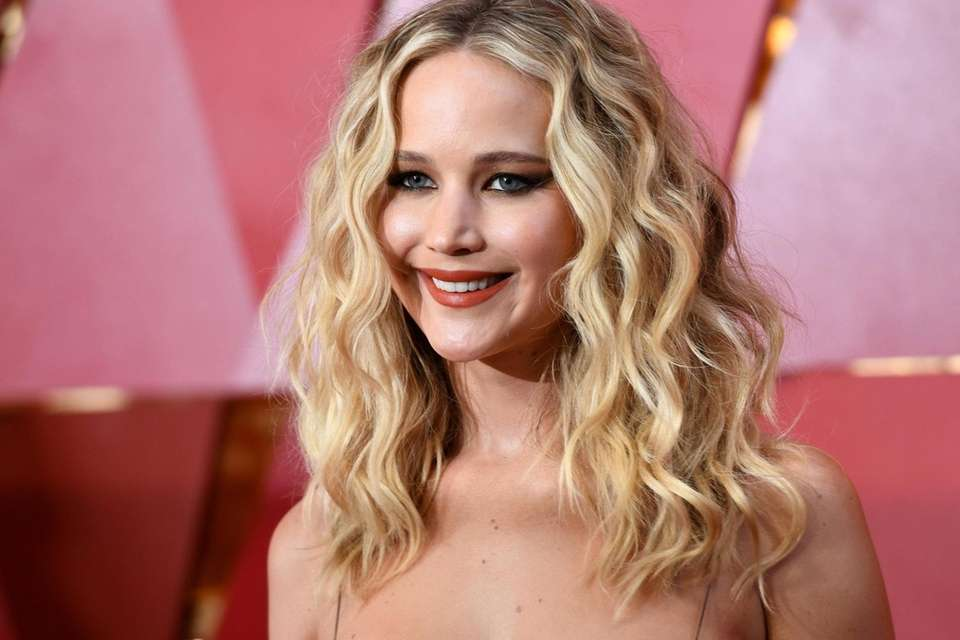 Actress Jennifer Lawrence, who keeps her personal life