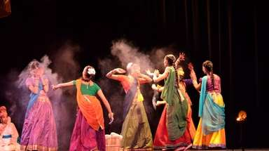 The Srijan Dance Company will perform Holi dances