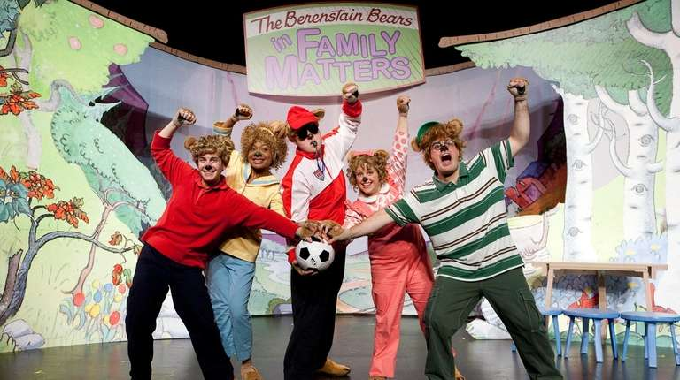 A Berenstain Bears musical called 'Family Matters' comes to the Patchogue Theatre