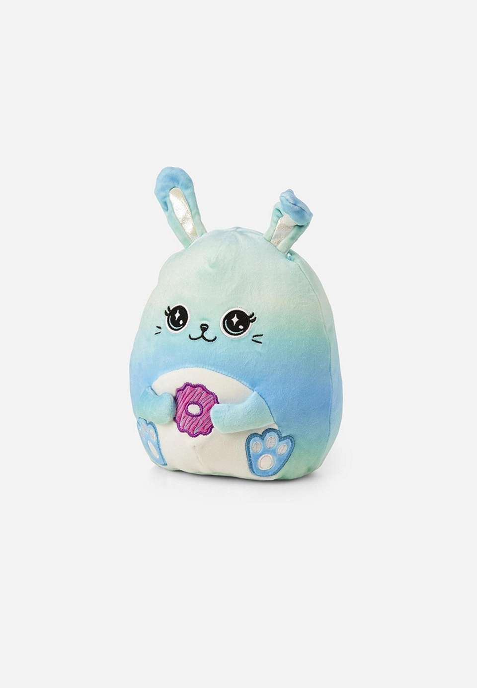 This pillow-like bunny will become any kid's favorite.