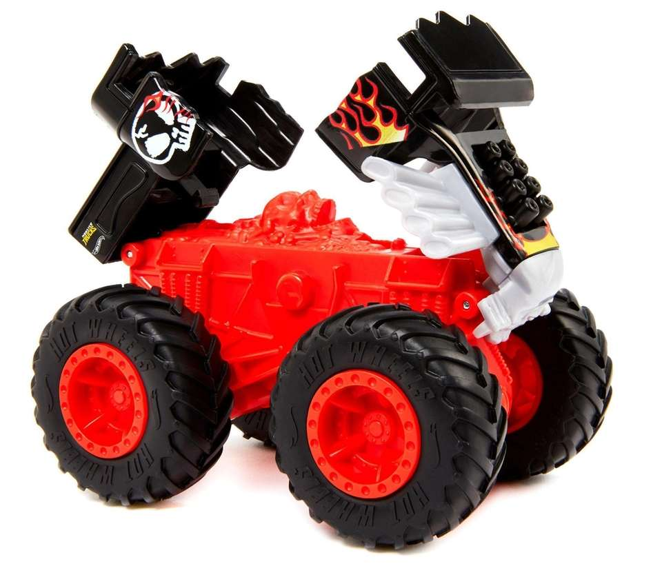 These monster trucks are made to be destroyed