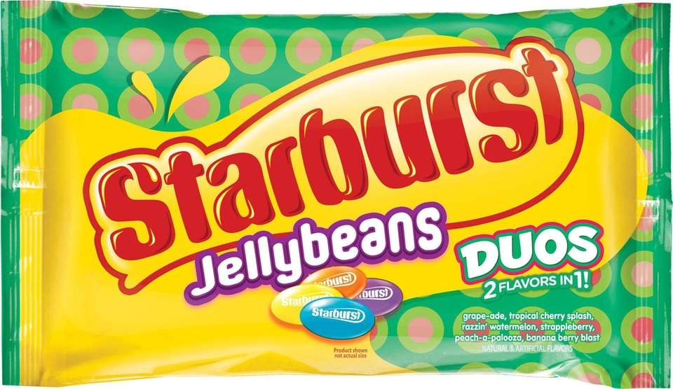Starburst put a spin on classic jelly beans,