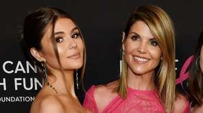 Actress Lori Loughlin, right, with her daughter Olivia