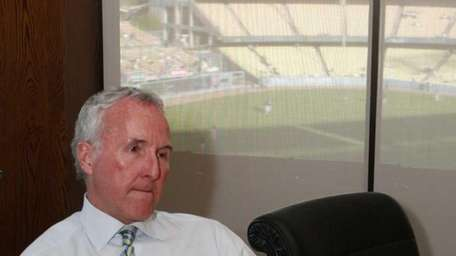 Los Angeles Dodgers owner Frank McCourt comments on