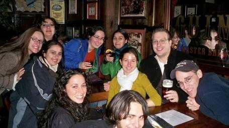 A tour group stops at Canterbury Ales during