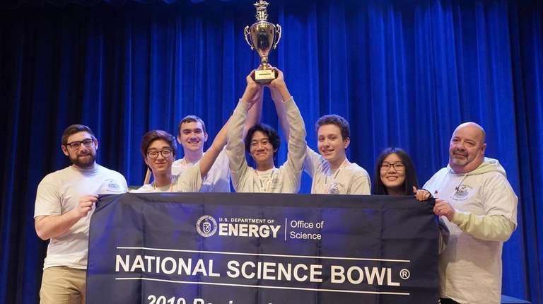 An Island Trees High School team won first